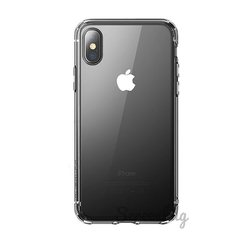 Clear gel case for iPhone X - screenhug