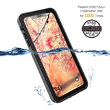 Waterproof cover Redpepper for iPhone XS Max - Black - screenhug