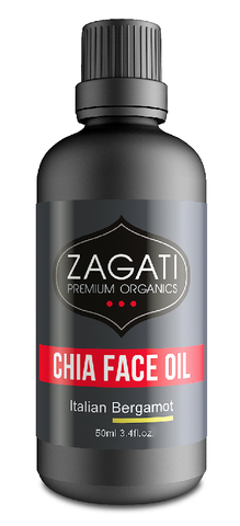ZAGATI - FACE OIL + BERGAMOT 50ml. CERTIFIED ORGANIC