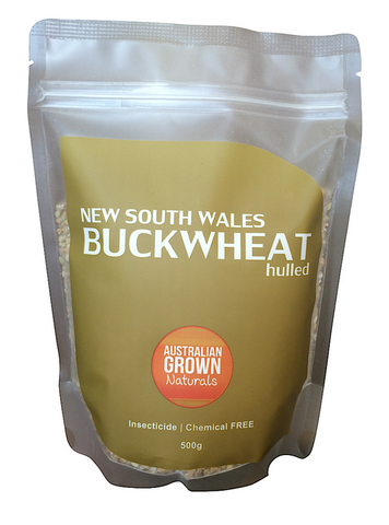 AUSTRALIAN GROWN NATURALS - BUCKWHEAT KERNELS 500g (ORIGIN AUSTRALIA)