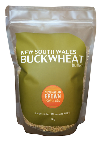 AUSTRALIAN GROWN NATURALS - BUCKWHEAT KERNELS 1kg (ORIGIN AUSTRALIA)