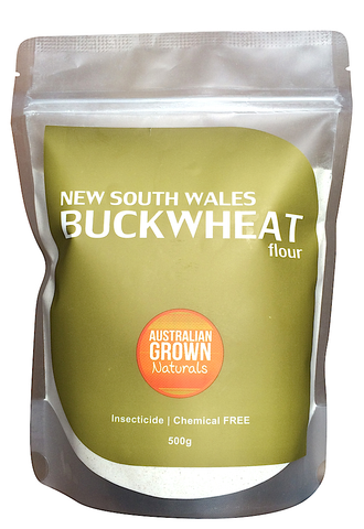 AUSTRALIAN GROWN NATURALS - BUCKWHEAT FLOUR 500g (ORIGIN AUSTRALIA)