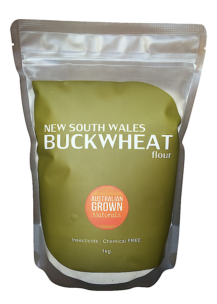 AUSTRALIAN GROWN NATURALS - BUCKWHEAT FLOUR 1kg. (ORIGIN AUSTRALIA)