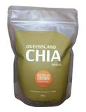 AUSTRALIAN GROWN NATURALS - CHIA SEEDS 500g (GROWN IN NORTH QUEENSLAND, AUSTRALIA) INSECTICIDE & CHEMICAL RESIDUE FREE