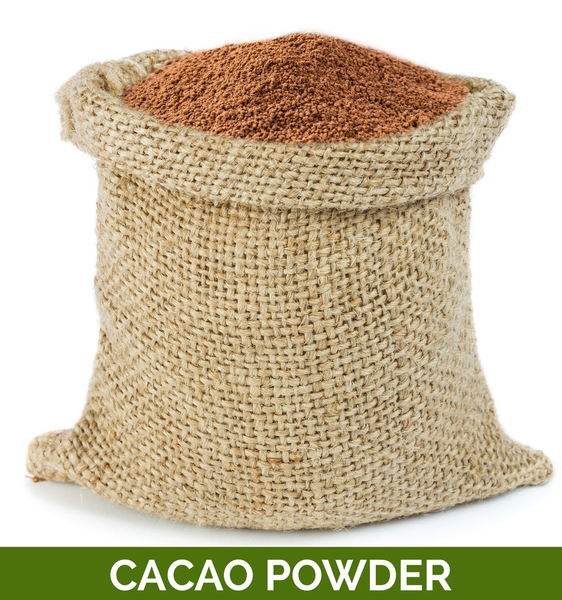 BULK - CACAO POWDER (UNROASTED) 5KG (ORIGIN PERU) CERTIFIED ORGANIC