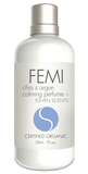 FEMI - CALMING PERFUME + ELEVEN SCENTS 30ml. (CERAMIC BOTTLE) CERTIFIED ORGANIC