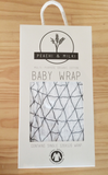 PEACHI & MILKI BABY WRAP (SWADDLE)