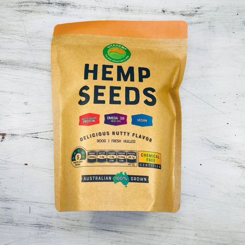 VITAHEMP - HULLED HEMP SEEDS 900g
