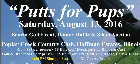 Putts for Pups Golfer Plus Dinner