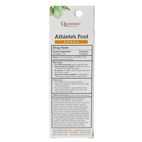 Athlete's Foot Cure Quick Drying Anti-Fungal