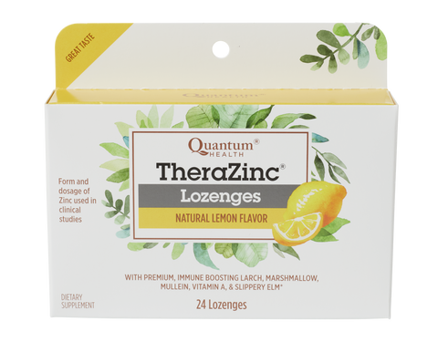 Thera Zinc® Lozenges, 24 foil-packed lozenges