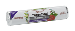 Thera Zinc® Elderberry Lozenges, 14 Count, Raspberry