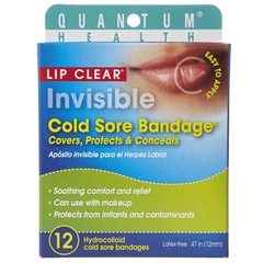Lip Clear Invisible Cold Sore Bandage