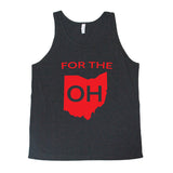 For The OH-Men's Tank - FOR THE OH, OSU Football  - for the oh, Ohio University football - for the oh