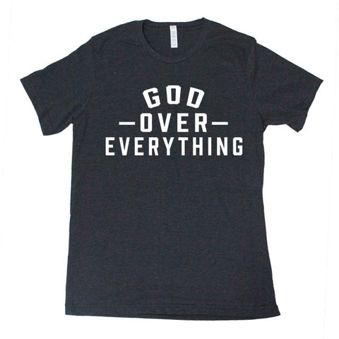 God Over Everything(Black) - FOR THE OH, OSU Football  - for the oh, Ohio University football - for the oh