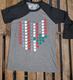 All Ohio Buckeye Raglan