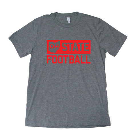 OH State Football (Black) - FOR THE OH, OSU Football  - for the oh, Ohio University football - for the oh