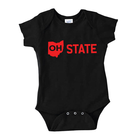 OH State-Onesie - FOR THE OH, OSU Football  - for the oh, Ohio University football - for the oh