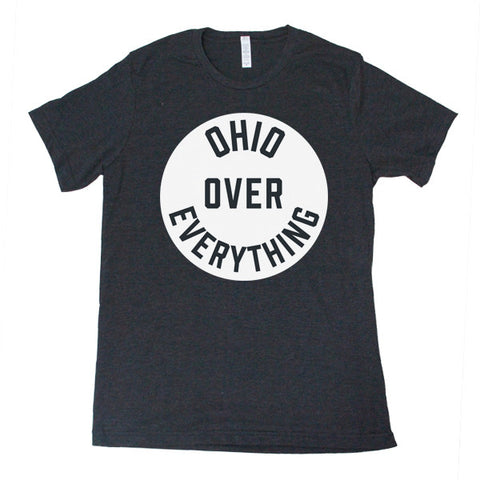Ohio Over Everything (Black) - FOR THE OH, OSU Football  - for the oh, Ohio University football - for the oh