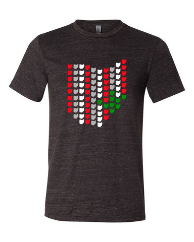 All Ohio Buckeye-Men's - FOR THE OH, OSU Football  - for the oh, Ohio University football - for the oh