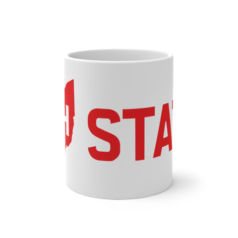 OH STATE - Color Changing Mug - FOR THE OH, OSU Football  - for the oh, Ohio University football - for the oh