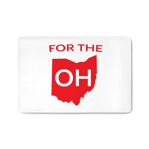 For The OH - Floormat - FOR THE OH, OSU Football  - for the oh, Ohio University football - for the oh