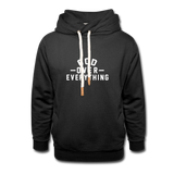 God Over Everything Shawl Collar Hoodie - FOR THE OH, OSU Football  - for the oh, Ohio University football - for the oh