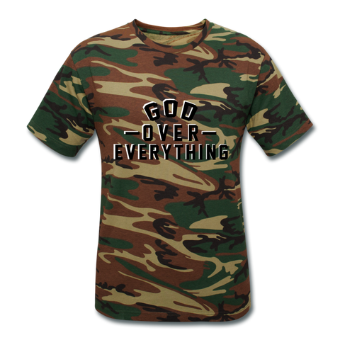 God Over Everything  - Unisex Camouflage T-Shirt - FOR THE OH, OSU Football  - for the oh, Ohio University football - for the oh