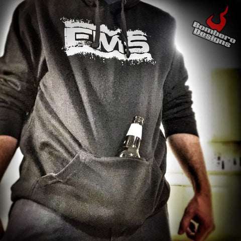 Beer Hoodie - Bombero Designs for firefighters