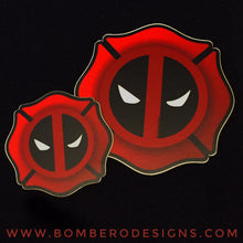 "Load image into Gallery viewer, 3"" Firepool - Bombero Designs for firefighters"