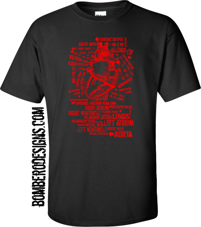 Cardiac Arrest - Bombero Designs for firefighters