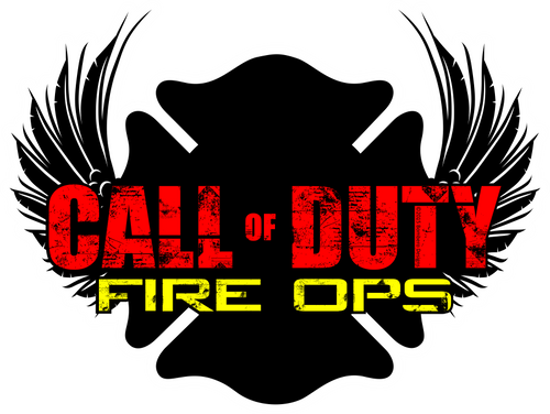 Call of Duty Fire Ops Sticker - Bombero Designs for firefighters