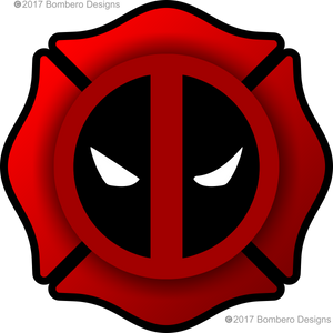 "3"" Firepool - Bombero Designs for firefighters"