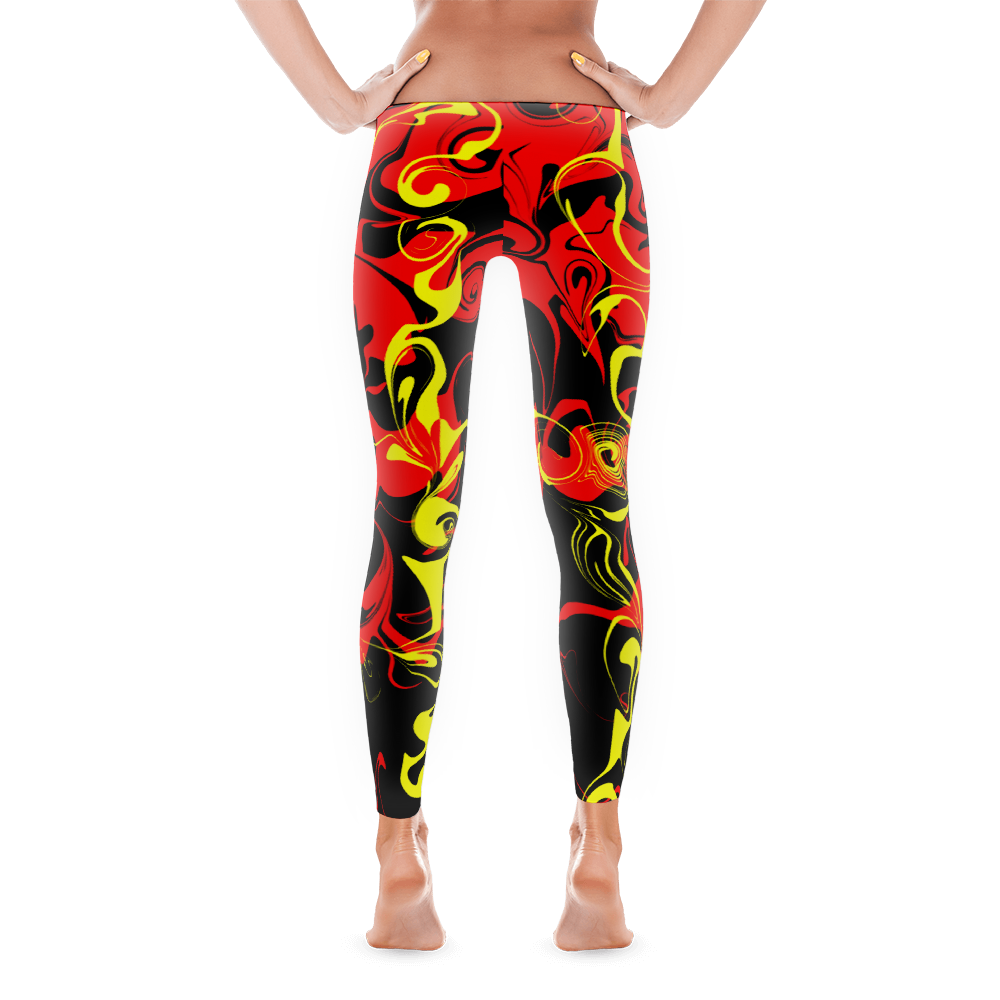 Liar Liar Women's Yoga Pant - Bombero Designs for firefighters
