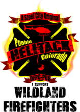 Load image into Gallery viewer, Pueblo Helitack - Bombero Designs for firefighters