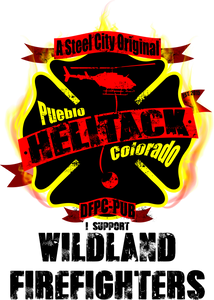 Pueblo Helitack - Bombero Designs for firefighters