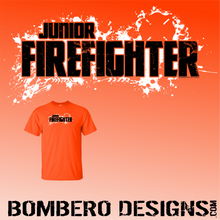 Load image into Gallery viewer, Junior Firefighter - Bombero Designs for firefighters