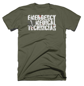 EMT Splatter - Bombero Designs for firefighters