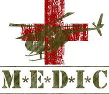 Load image into Gallery viewer, M*A*S*H Medic - Bombero Designs for firefighters
