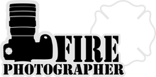 Load image into Gallery viewer, Fire Photographer - Bombero Designs for firefighters