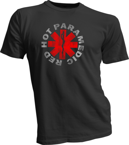 Red Hot Paramedic - Bombero Designs for firefighters