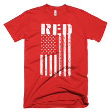 Load image into Gallery viewer, R.E.D. Remember Everyone Deployed - Bombero Designs for firefighters