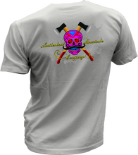 Load image into Gallery viewer, Leatherhead Sugar Skull - Bombero Designs for firefighters