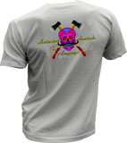 Leatherhead Sugar Skull - Bombero Designs for firefighters