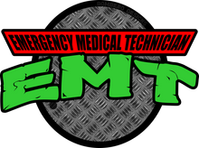 Load image into Gallery viewer, EMT Ninja - Bombero Designs for firefighters
