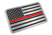 Load image into Gallery viewer, Thin Red Line Emblem - Bombero Designs for firefighters