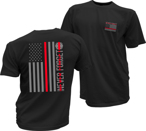 Never Forget - Bombero Designs for firefighters