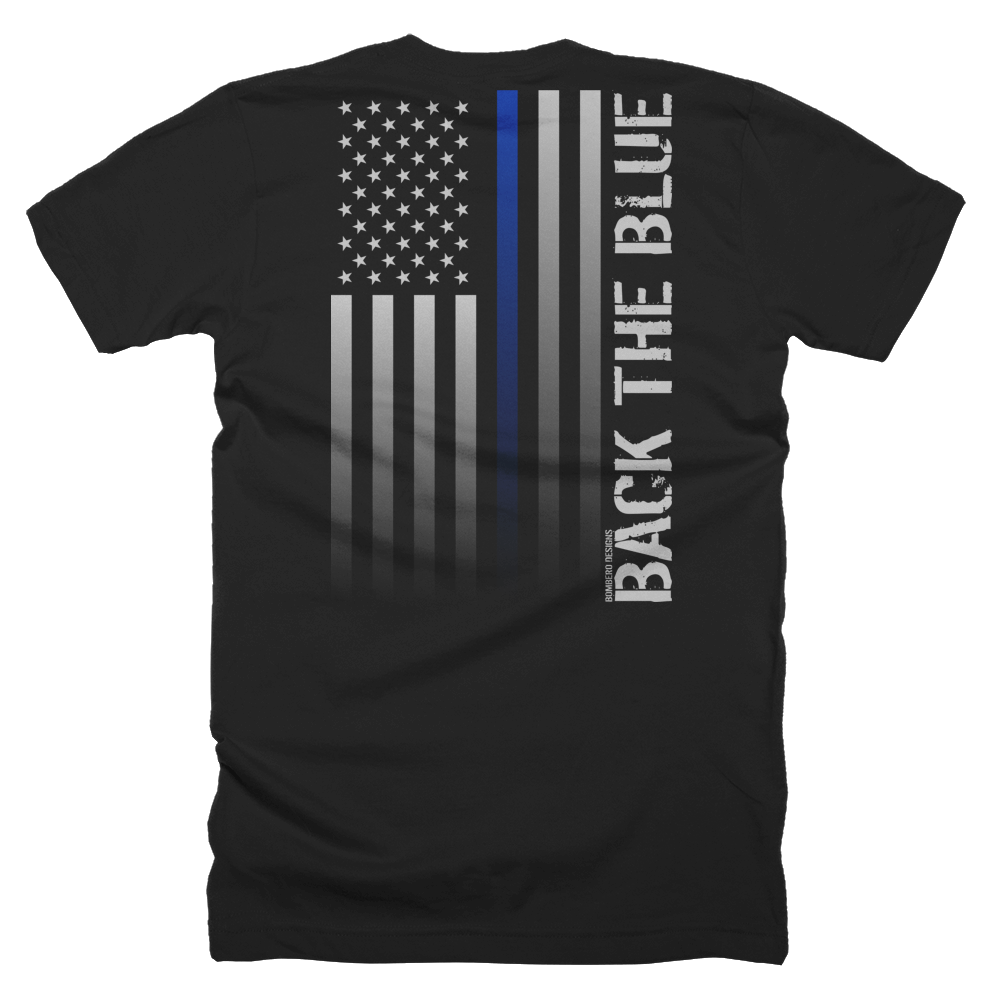 Thin Blue Line - Bombero Designs for firefighters