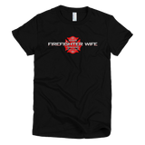 Firefighter Wife - Women's - Bombero Designs for firefighters