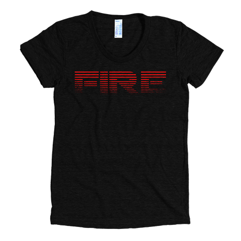 Fire Decay - Women's - Bombero Designs for firefighters